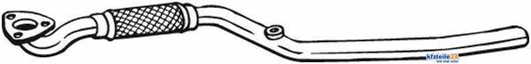 Tube Échappement CentreKfzteile 24 notamment pour OPEL tube tubes