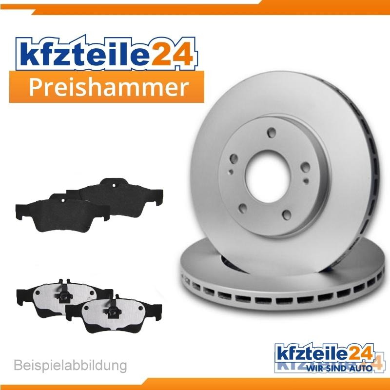 kfzteile242 Bremsscheiben Belüftet 310 mm für Lexus Bremsbeläge Hinten u.a