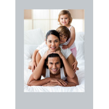 Any Occasion Cards 5x7 Folded Cards, Premium Cardstock 120lb, Card & Stationery -Colored Border