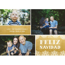 Christmas Photo Cards 5x7 Cards, Premium Cardstock 120lb with Rounded Corners, Card & Stationery -Feliz Navidad Fun