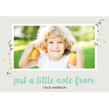 Baby & Kids 3.5x5 Folded Notecard, Card & Stationery -One Adorable Mess