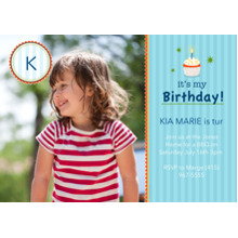 Birthday Party Invites 5x7 Cards, Premium Cardstock 120lb with Rounded Corners, Card & Stationery -it's my Birthday!