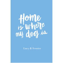 Non-Photo 24x36 Poster , Home Decor -Home Dog