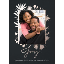 Christmas Photo Cards 5x7 Cards, Premium Cardstock 120lb with Elegant Corners, Card & Stationery -Joyful Foliage
