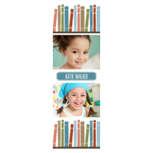 Baby + Kids Bookmarks, Card & Stationery -Little Book Worm