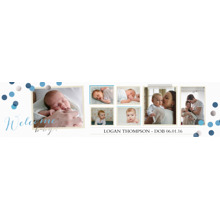 Baby + Kids Photo Banner 2x8, Home Decor -Babys Debut