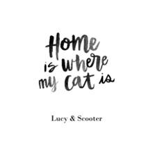 Non-Photo 20x30 Poster(s), Board, Home Decor -Home Cat