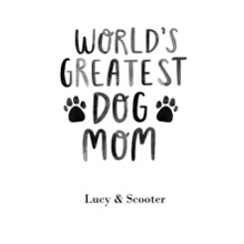 Non-Photo 11x14 Poster, Home Decor -Worlds Greatest Dog