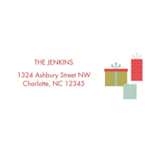 Christmas Address Labels, Card & Stationery -Hexagon Holiday