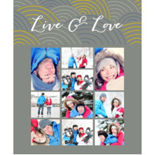 Love Sherpa Blanket, Gift -Live Love