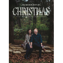 Christmas Photo Cards 5x7 Cards, Premium Cardstock 120lb with Rounded Corners, Card & Stationery -Merry Christmas