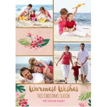Christmas Photo Cards 5x7 Cards, Premium Cardstock 120lb with Elegant Corners, Card & Stationery -Desert Snow
