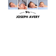 Baby & Kids 5x7 Personal Stationery, Card & Stationery -Stork's Special Delivery