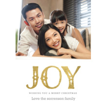 Christmas Photo Cards 5x7 Cards, Premium Cardstock 120lb with Rounded Corners, Card & Stationery -Nordic Joy
