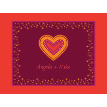 Love Fleece Blanket, 60x80, Gift -Colorful Heart