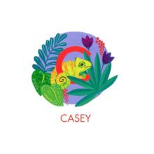 Baby + Kids Canvas Print, 11x14, Home Decor -Animal Monogram C
