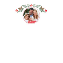 Christmas 5x7 Personal Stationery, Card & Stationery -Boughs of Holly