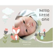 Baby + Kids 16x20 Poster(s), Board, Home Decor -Little Fox