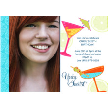 Birthday Party Invites 5x7 Cards, Premium Cardstock 120lb with Scalloped Corners, Card & Stationery -You're Invited