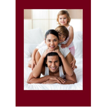 Any Occasion Cards 5x7 Cards, Standard Cardstock 85lb, Card & Stationery -Colored Border