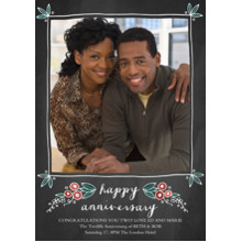 Anniversary Invitations 5x7 Cards, Standard Cardstock 85lb, Card & Stationery -Sweet Nothings