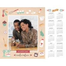 Calendar 11x14 Poster, Home Decor -Seasonally Sweet Home