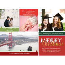 Christmas Photo Cards 5x7 Cards, Premium Cardstock 120lb with Rounded Corners, Card & Stationery -A Multitude of Christmas Blessings