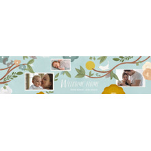 Baby + Kids 2x8 Peel, Stick & Reuse Banner, Home Decor -Watercolor Welcome