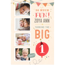 Baby + Kids 20x30 Poster(s), Board, Home Decor -So Much Fun Turning One