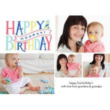 Birthday Greeting Cards 5x7 Folded Cards, Standard Cardstock 85lb, Card & Stationery -Birthday Horray Memories