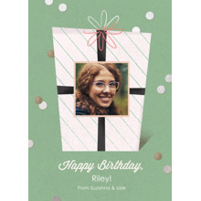 Birthday Greeting Cards 5x7 Folded Cards, Premium Cardstock 120lb, Card & Stationery -Birthday Cheer