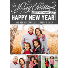 Christmas Photo Cards 5x7 Cards, Premium Cardstock 120lb with Rounded Corners, Card & Stationery -Unless This Is Late