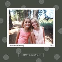 Christmas Photo Cards 5x5 Flat Card Set, 85lb, Card & Stationery -Holiday Spots