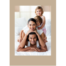 Any Occasion Cards 5x7 Cards, Premium Cardstock 120lb, Card & Stationery -Colored Border
