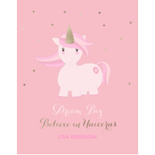Baby + Kids 11x14 Poster, Home Decor -Unicorn Magic