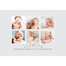 Baby + Kids Framed Canvas Print, Chocolate, 20x30, Home Decor -So Loved