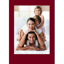 Any Occasion Cards 5x7 Folded Cards, Standard Cardstock 85lb, Card & Stationery -Colored Border