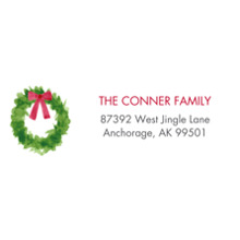 Christmas Address Labels, Card & Stationery -One Christmas Wish