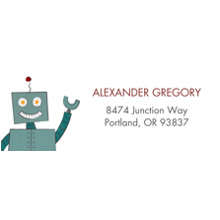 Baby Address Labels, Card & Stationery -Galaxy Overlords