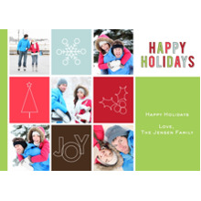 Christmas Photo Cards 5x7 Cards, Premium Cardstock 120lb with Rounded Corners, Card & Stationery -Symbolic Holiday