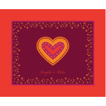 Love Fleece Blanket, 50x60, Gift -Colorful Heart