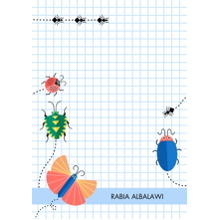 Baby & Kids 5x7 Personal Stationery, Card & Stationery -Interesting Insects