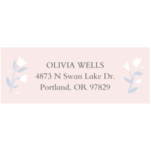Baby Address Labels, Card & Stationery -Swan Love