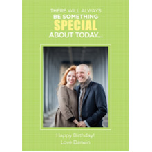 Birthday Greeting Cards Flat Glossy Photo Paper Cards with Envelopes, 5x7, Card & Stationery -Something Special