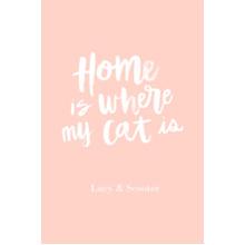 Non-Photo 20x30 Poster, Home Decor -Home Cat