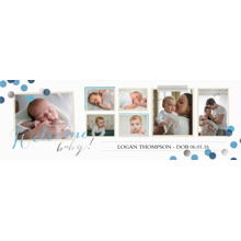 Baby + Kids Photo Banner 1x3, Home Decor -Babys Debut