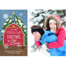 Christmas Photo Cards 5x7 Cards, Premium Cardstock 120lb with Elegant Corners, Card & Stationery -Good Ol' Fashioned Christmas