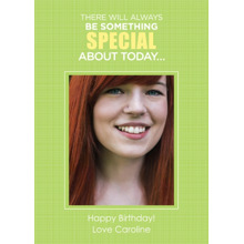Birthday Greeting Cards 5x7 Folded Cards, Premium Cardstock 120lb, Card & Stationery -Something Special