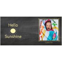 Everyday 11 oz. Navy Mug, Gift -Hello Sunshine
