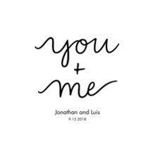 Non-Photo 24x36 Poster , Home Decor -You+Me